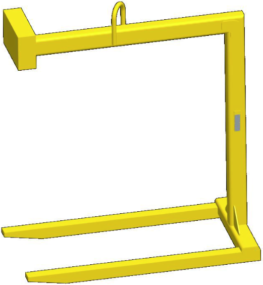 Pallet Lifter Counterweighted